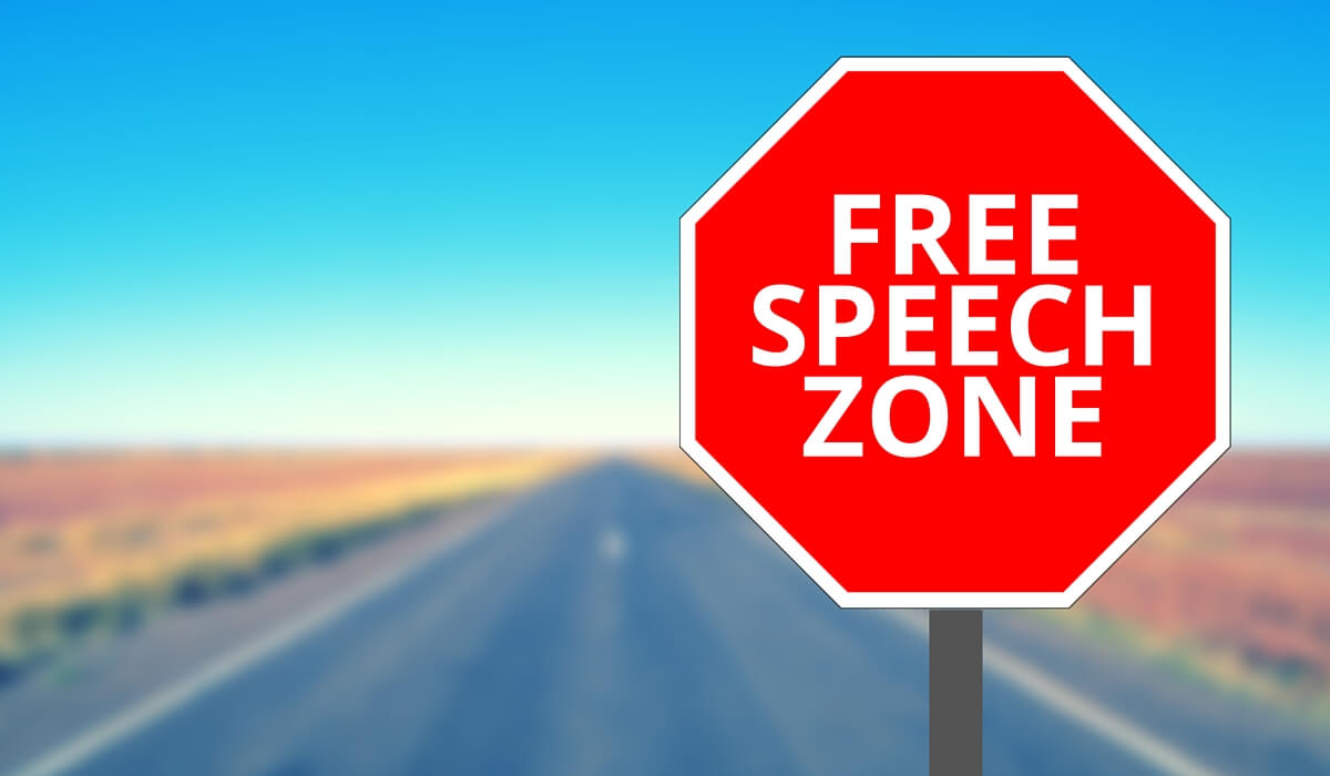 Attorney's blog on IMEs constitutes protected speech