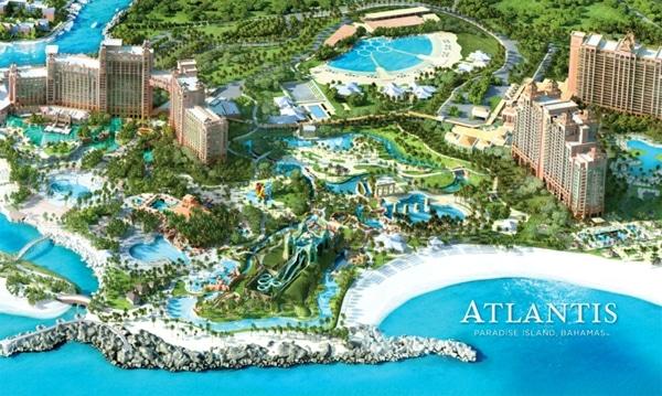 A Day at Atlantis Aquaventure - Paradise Island, Bahamas