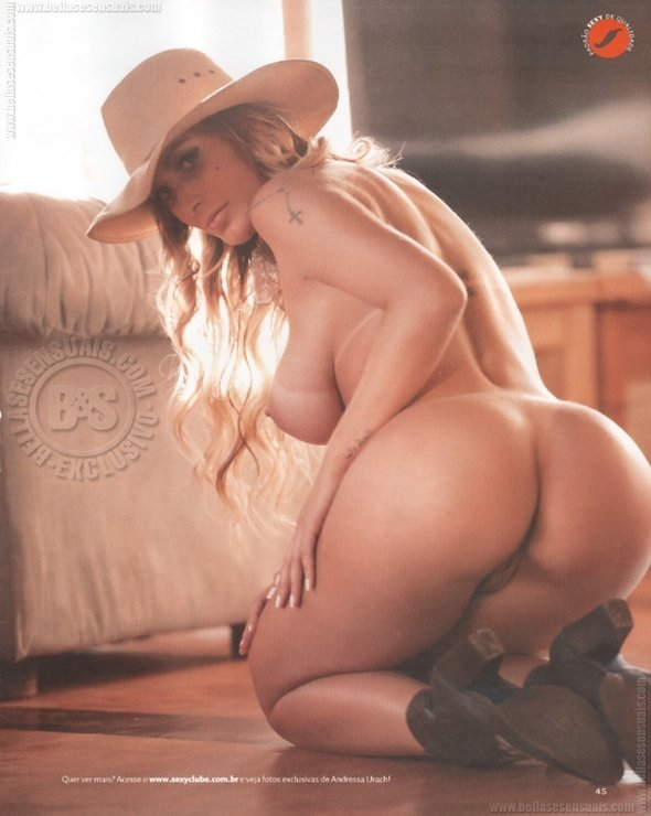 Fotos Andressa Urach pelada na Sexy