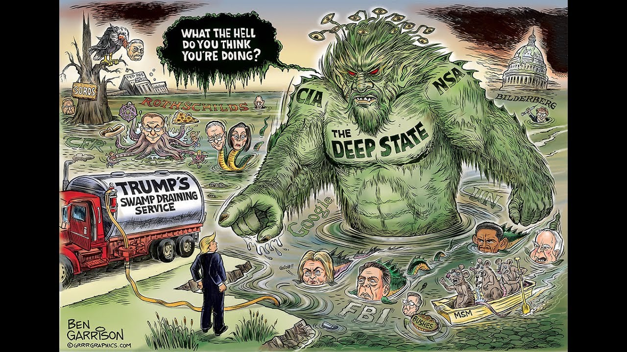 "70% Of Americans Believe In ""Deep State"" Government ..."