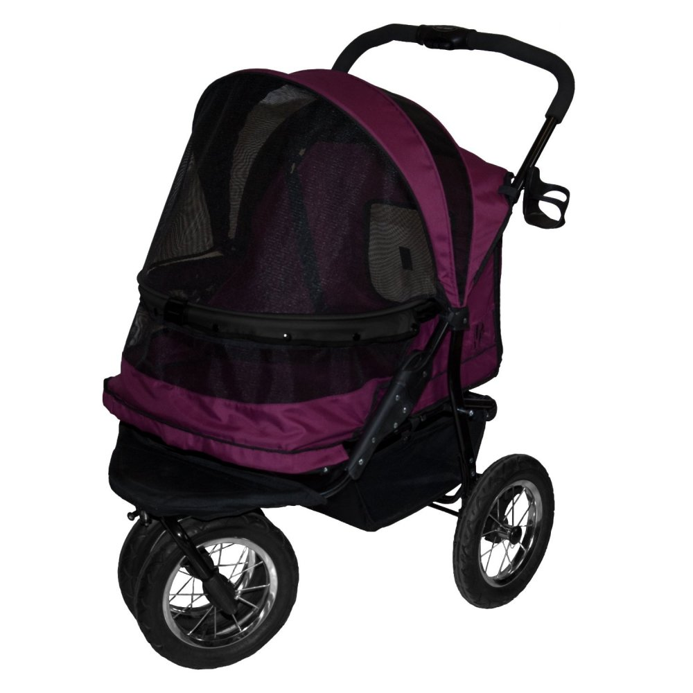 Pet Gear No-Zip Double Pet Stroller | RadioFence.com
