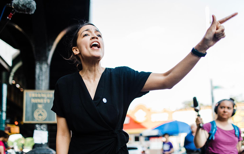Alexandria Ocasio-Cortez Fights the Power | The Nation
