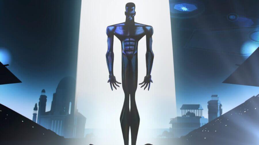 Love, Death & Robots Episode 14: Zima Blue Ending ...