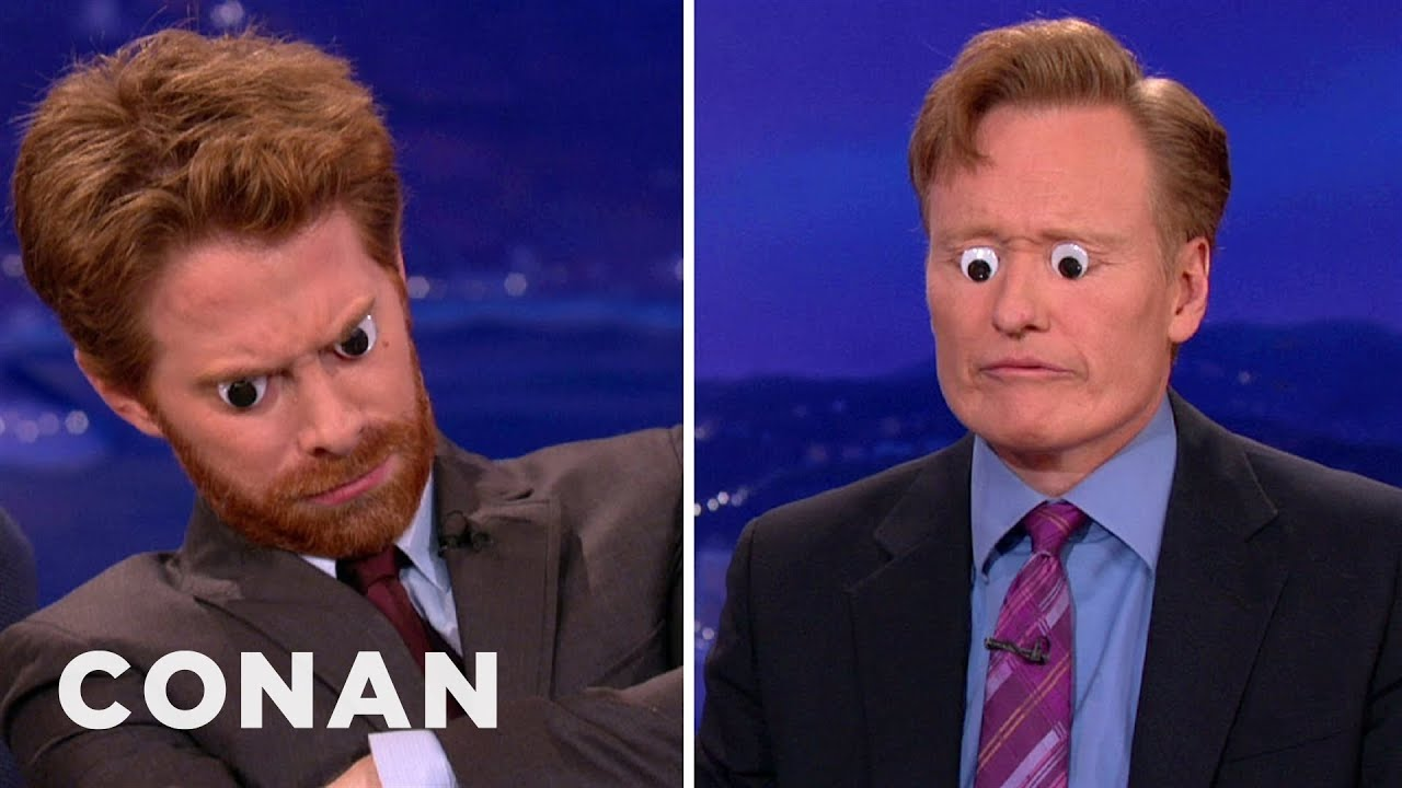 Seth Green Loves To Decorate With Googly Eyes - YouTube