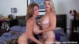Busty MILFS_Vicky Vette and_Deauxma Get_Off!